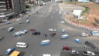 The world's craziest intersection: Meskel Square, Addis Ababa