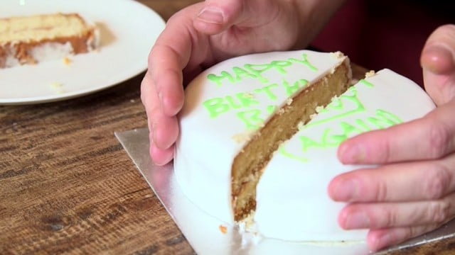 Numberphile: The Scientific Way to Cut a Cake