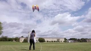 Understanding tether dynamics through kite flying