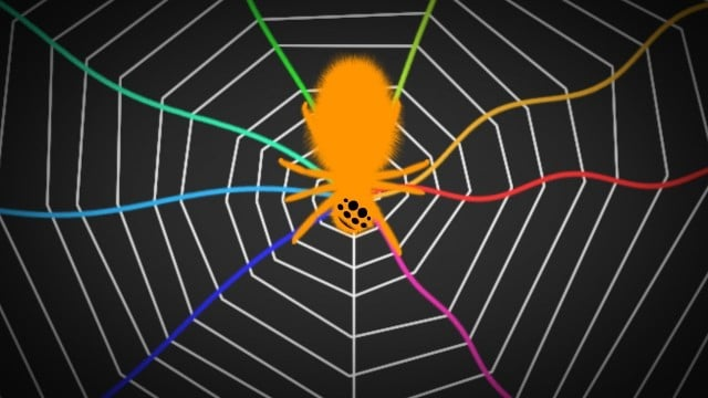 Spiders Tune Their Webs Like A Guitar