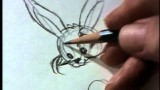 Watch Chuck Jones draw Bugs Bunny