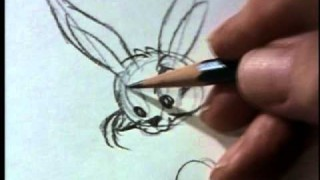 Watch Chuck Jones draw Bugs Bunny