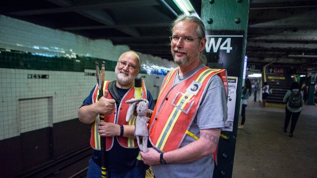 Meet the People Who Retrieve the Stuff You Drop On the Tracks