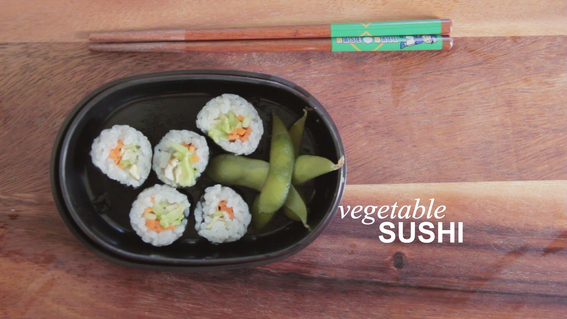 How to Make Vegetable Sushi: Farm to Table Family | The Kid Should See ...