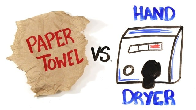AsapSCIENCE: Paper Towel vs Hand Dryers