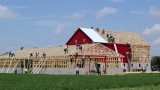 Amish Barn Raising: Building a barn in one day