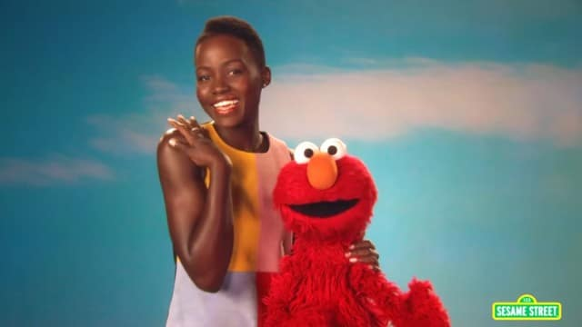Lupita Nyong'o Loves Her Skin –Sesame Street