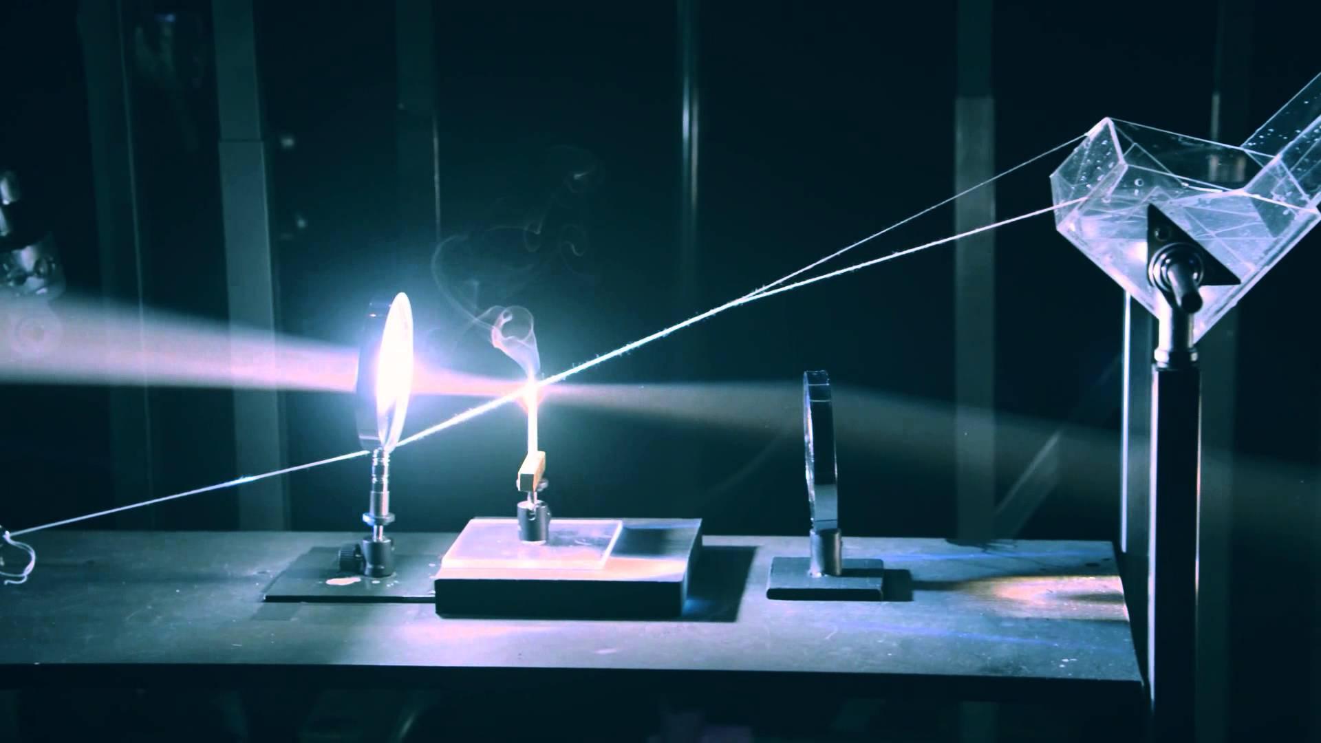 Power Of Optics A Light Powered Rube Goldberg Machine