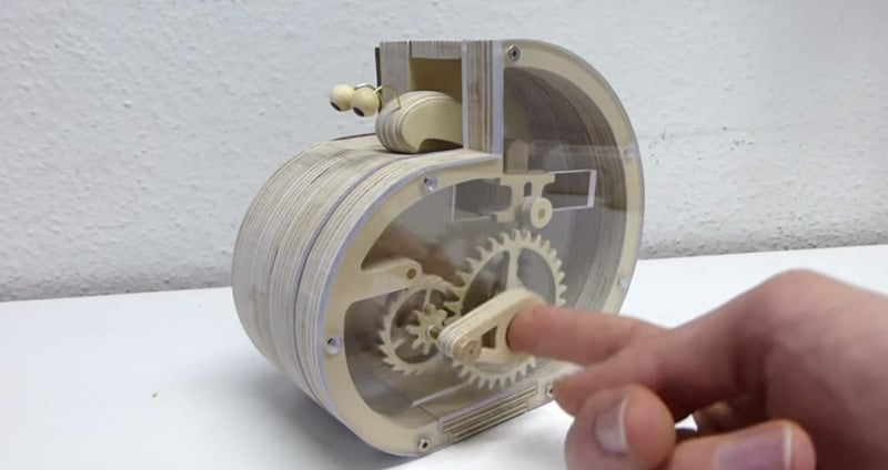 How to make a mechanical snail coin bank | The Kid Should ...