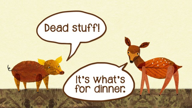 Dead stuff: The secret ingredient in our food chain