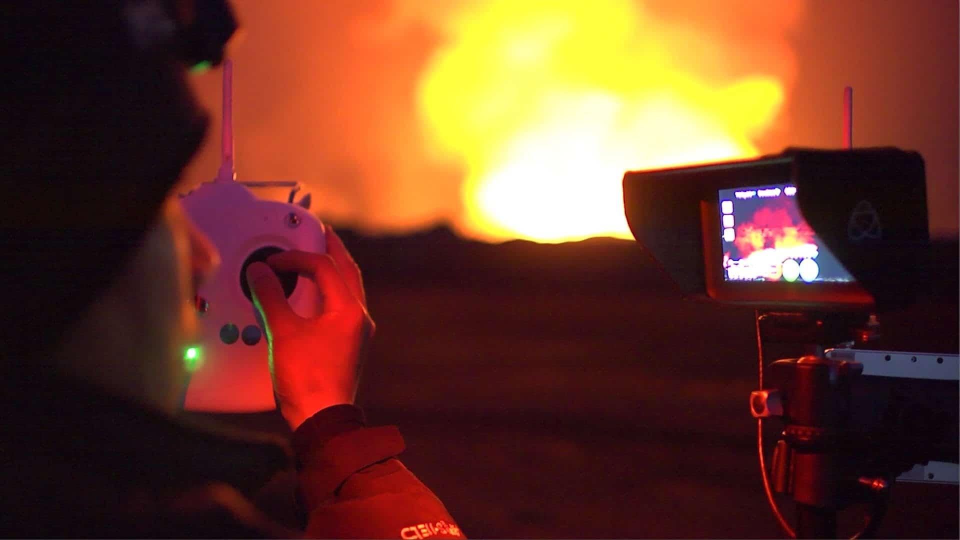 Eruption at Iceland's Bardabunga Volcano