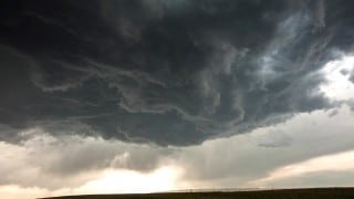 Stormscapes: A time lapse of storm clouds & mesocyclones