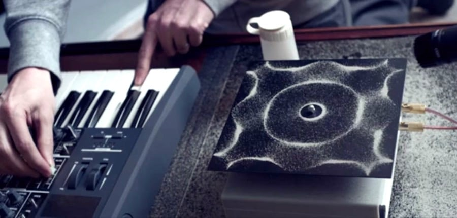 Cymatics Science Music Audio Frequency Visualizations