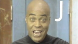 James Earl Jones recites the alphabet on Sesame Street