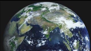 Planet Earth in 4K: Time lapse images taken by an orbiting satellite