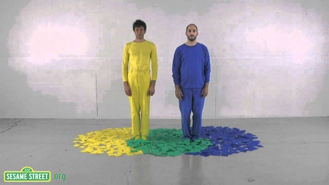 Three Primary Colors – Sesame Street & OK Go