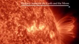 The sun, our closest star, in a stunning 4K time lapse animation