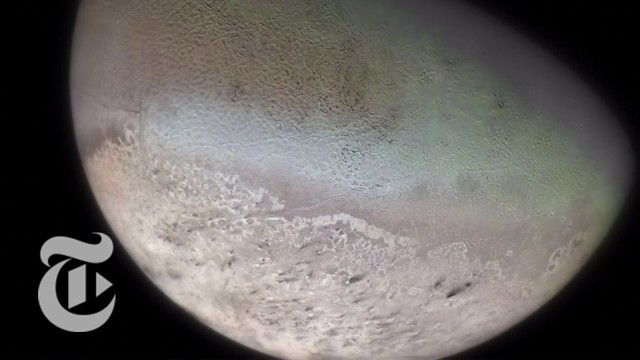 The Captured Ice Moon: Voyager 2 and Neptune's moon Triton