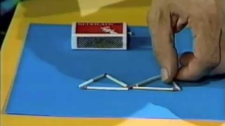 The Curiosity Show: Matchstick Triangle Puzzle