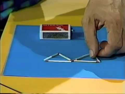 Matchstick Triangle Puzzle – The Curiosity Show