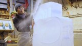 How is an ice sculpture made? SciFri investigates frozen water