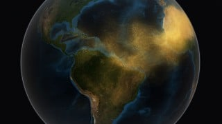 NASA: Satellite Tracks Saharan Dust to Amazon in 3-D