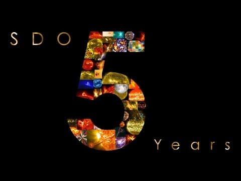 NASA's Solar Dynamics Observatory (SDO): Year 5