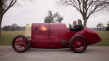 Driving the newly restored 1910 Fiat S76 'Beast of Turin'