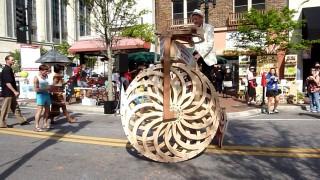 Boneshaker Big Wheel 2014: Penny-farthing + Strandbeest