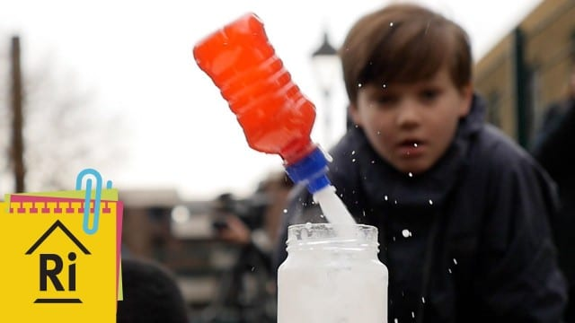 ExpeRimental: How to make fizzy bottle rockets