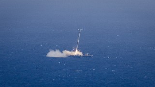"Falcon 9 Flight 17 – SpaceX's ""hard landing"" on a floating platform"
