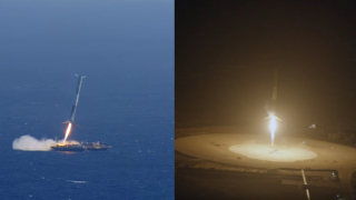 SpaceX's Falcon 9 crashes & landings –Flights 14, 17, 20, & 23