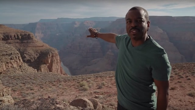 LeVar Burton visits the Grand Canyon – Reading Rainbow