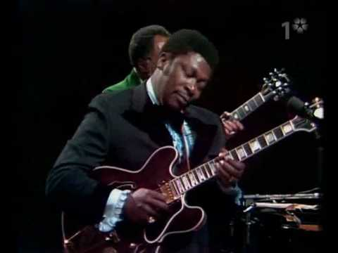 B.B. King – Live performance in Stockholm, Sweden in 1974
