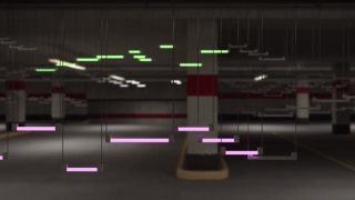 An illuminated visualization of Bach's The Well Tempered Clavier
