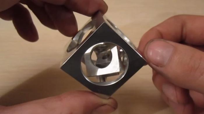 Edward Mirell Wedding Bands 34 Simple Machining a cube in