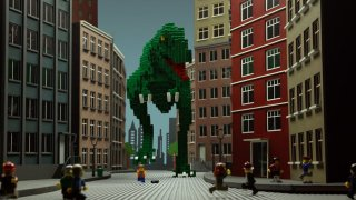 LEGO Adventure in the City: A brick-animated short story