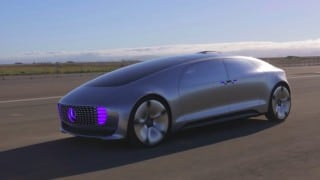 The Mercedes-Benz F 015 Self-Driving Concept Car