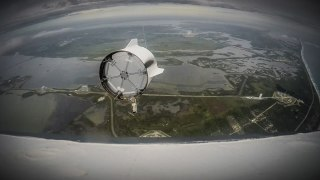 SpaceX Crew Dragon Spacecraft –Pad Abort Test POV video