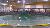 A demo of the FloWave Ocean Simulator & the AMOEBA wave pool