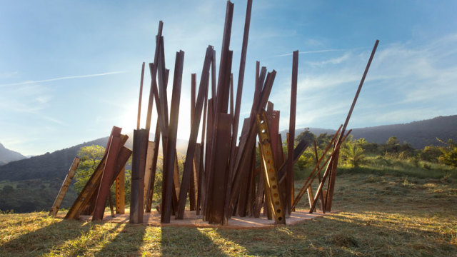 Beam Drop Inhotim, 2008, Brazil – Chris Burden