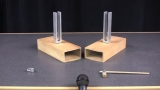 Resonance, forced vibration, and a tuning forks demo