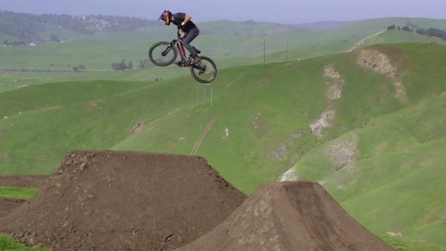 Brandon Semenuk's unReal mountain bike ride in one 3 minute shot