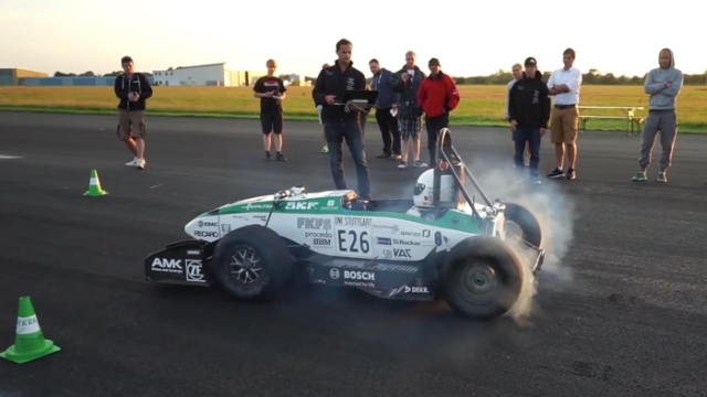 EV acceleration world record – 62 mph (100 km/h) in 1.779 seconds