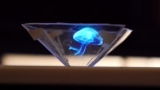"Make a 3D ""hologram"" using your smartphone & a CD jewel case"