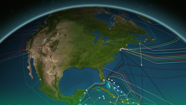 The 550,000 miles of undersea cables that power the internet
