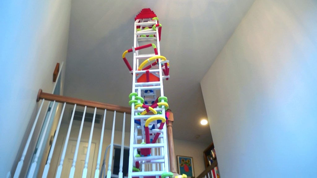 Andrew Gatt's Ultimate Paper Roller Coaster | The Kid Should See This