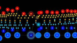 Chopin, Étude, opus 25 no. 1, A-flat major, an animated visualization