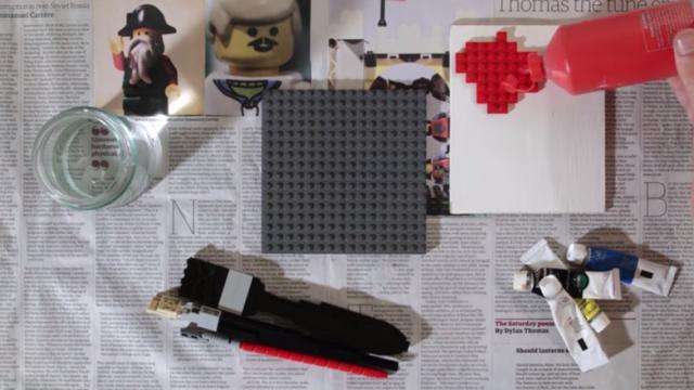 Paint. A Short LEGO Film
