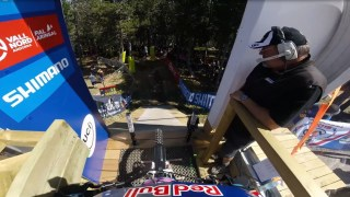 Rachel Atherton's downhill mountain biking victory at Vallnord